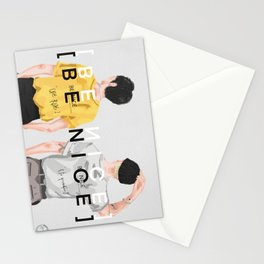 [BE NICE] [BE YOURSELF] FROM YOON & MINO Stationery Cards