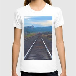 Wrong Side of the Track - Oncoming Train T-shirt