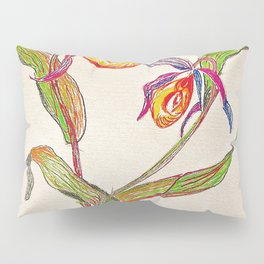 painted orchid Pillow Sham