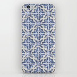 Portuguese Old Tiles 3 iPhone Skin