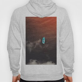 A boat on the ocean Hoody