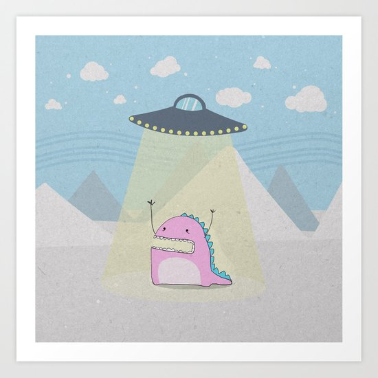 abduction Art Print