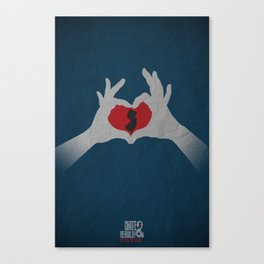 I  Heart NJ Canvas Print