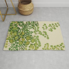 Maidenhair Ferns Rug