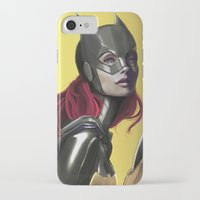 batgirl iPhone & iPod Cases featuring BATGIRL by corverez