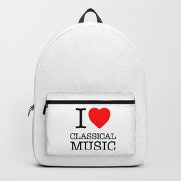 I Love Classical Music Backpack