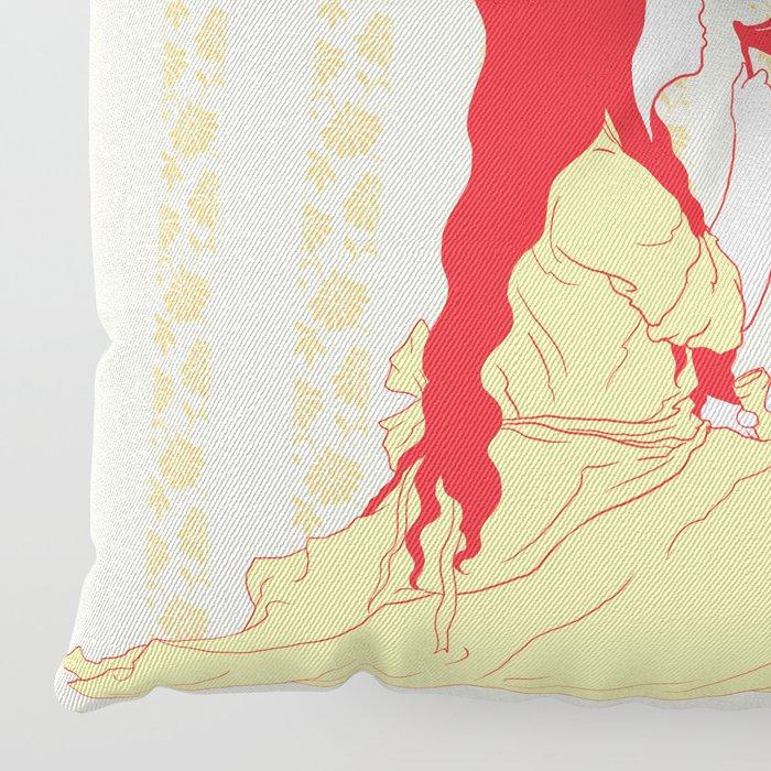 Bubbly Hearts Floor Pillow