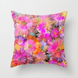 Flower carpet(49) Throw Pillow