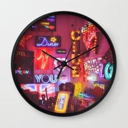 God's own junkyard Wall Clock