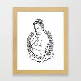 Hot Pockets Framed Art Print