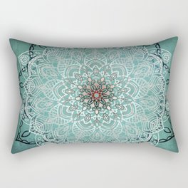Mystic Mandala Rectangular Pillow