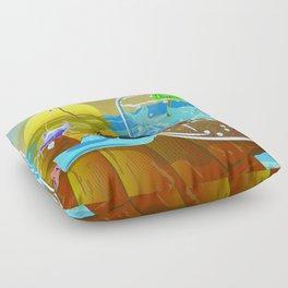 Fish Tales Floor Pillow