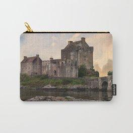 Eilean Donan Castle at sunrise Carry-All Pouch