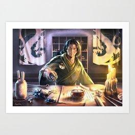 Alchemy Lab Art Print