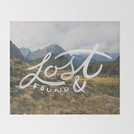 Lost & Found Throw Blanket