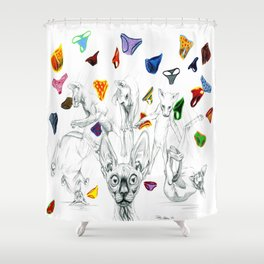 Say no to pants Shower Curtain