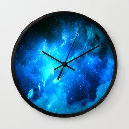 Lost Nebula Wall Clock