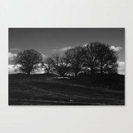 Mørket Kommer (Darkness Comes)  Canvas Print