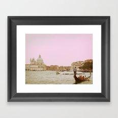 Venice in a Dream Framed Art Print