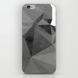 Concrete Polygonal texture iPhone Skin
