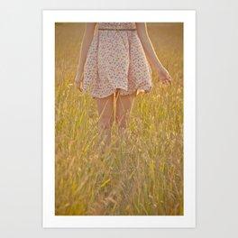 Isabella Woodstock  Art Print
