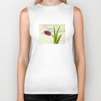 tulip Biker Tanks featuring Tulip by inkedsandra