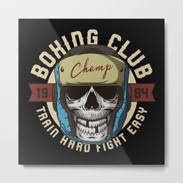 Sports - Heavyweight - Boxing Club Metal Print
