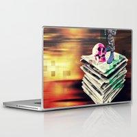 men Laptop & iPad Skins featuring Tru Men by Alec Goss