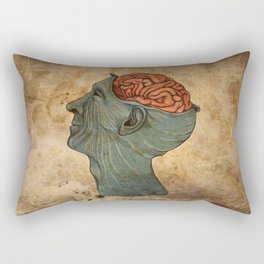 Mind Wide Open Rectangular Pillow