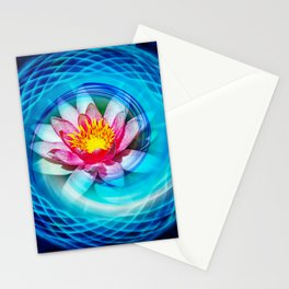Wellness Water Lily Stationery Cards
