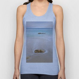 """Serenity"". Looking at the sea.... Unisex Tank Top"
