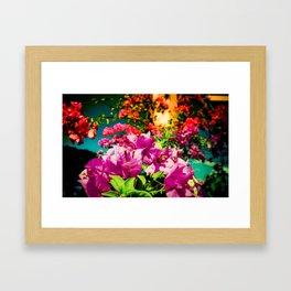 Flowerers Framed Art Print