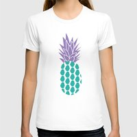 pineapples T-shirts featuring Pineapples  by Ashley Hillman
