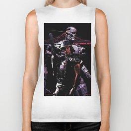 Kyle Reese Revenge Aliens Terminator 80s synthwave Biker Tank
