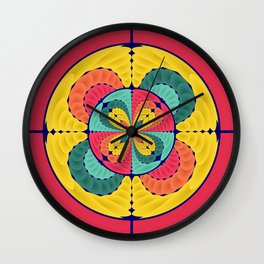 Color scope Wall Clock