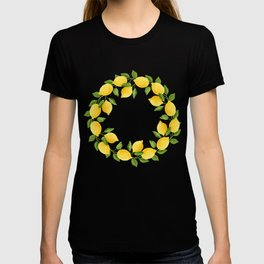 Watercolor Lemons T-shirt