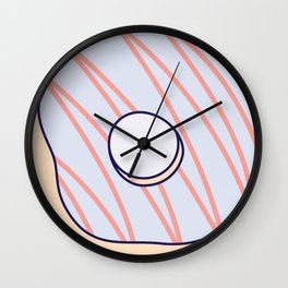 Do's & Donuts Wall Clock