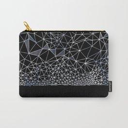 Organometric Primes 1.Black  #decor #geometric Carry-All Pouch