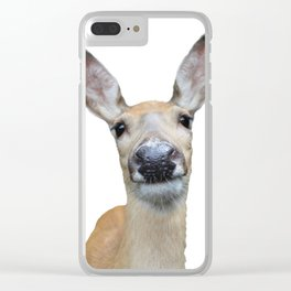 Doe a deer Clear iPhone Case
