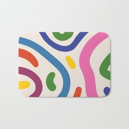 Colorful mess Bath Mat