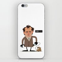 phil jones iPhone & iPod Skins featuring Phil by The Drawbridge