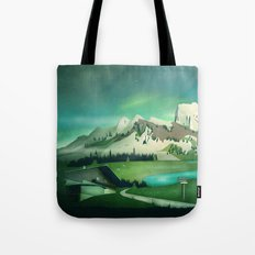 Alpine Enchantment Tote Bag
