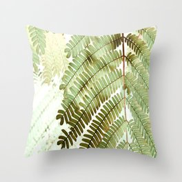 Foliage 2 Throw Pillow