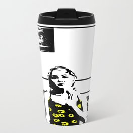 Sunflower Girl Travel Mug