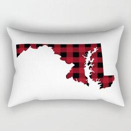 Maryland - Buffalo Plaid Rectangular Pillow