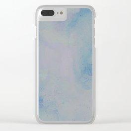 Concrete Clouds Clear iPhone Case