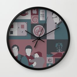 The World Is Quiet Here Wall Clock