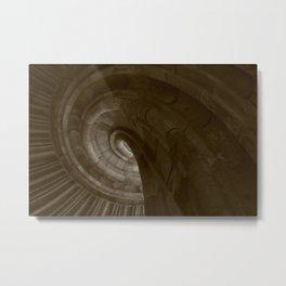 Sand stone spiral staircase 3 Metal Print