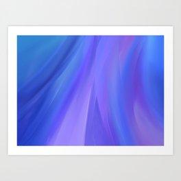 The Purple Wave Art Print