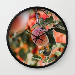 Autumn Apple VII Wall Clock